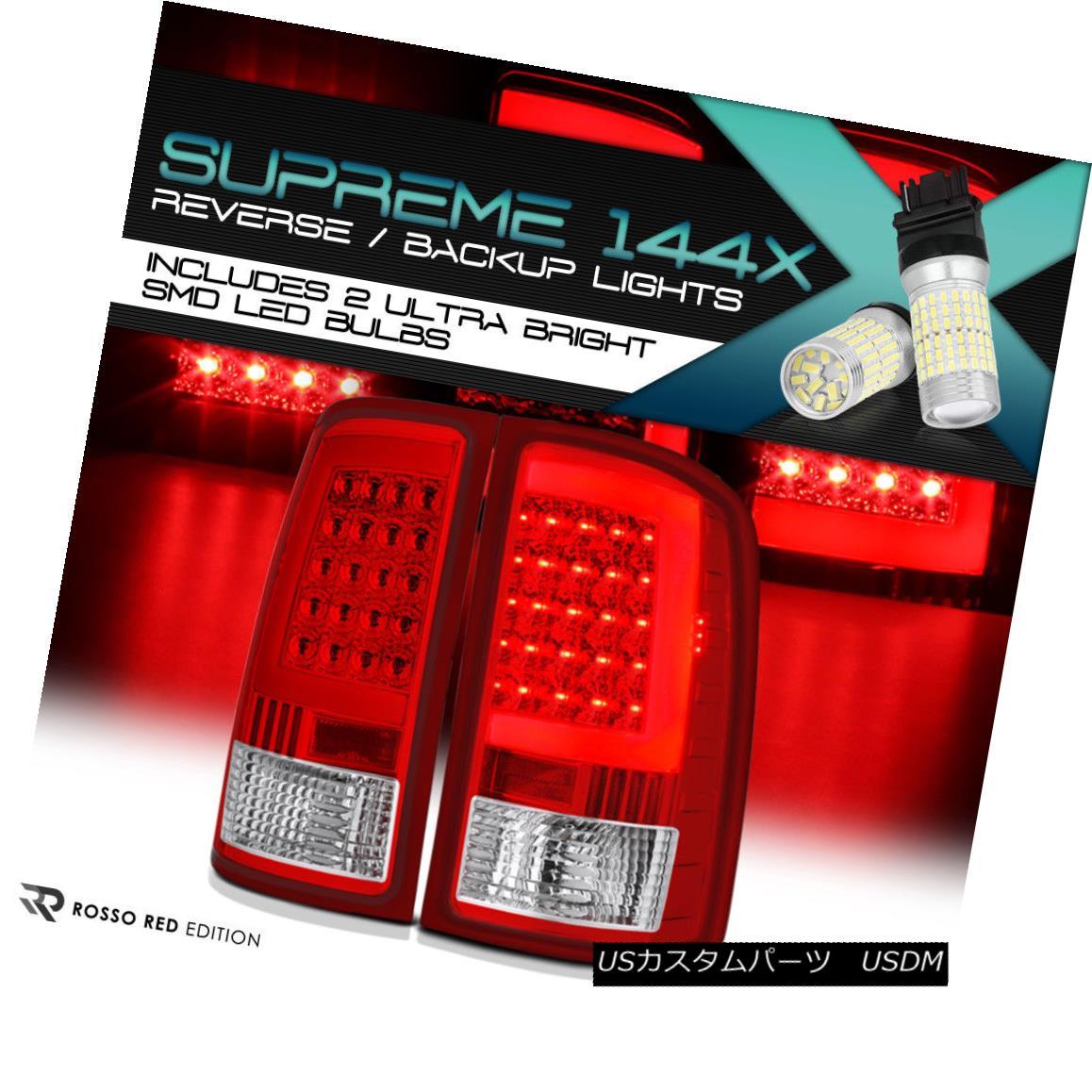 テールライト {360 Degree SMD Reverse} GMC Sierra 07-13 LED Tube Rear Tail Lamps Brake Signal {360度SMDリバース} GMC Sierra 07-13 LEDチューブリアテールランプブレーキ信号