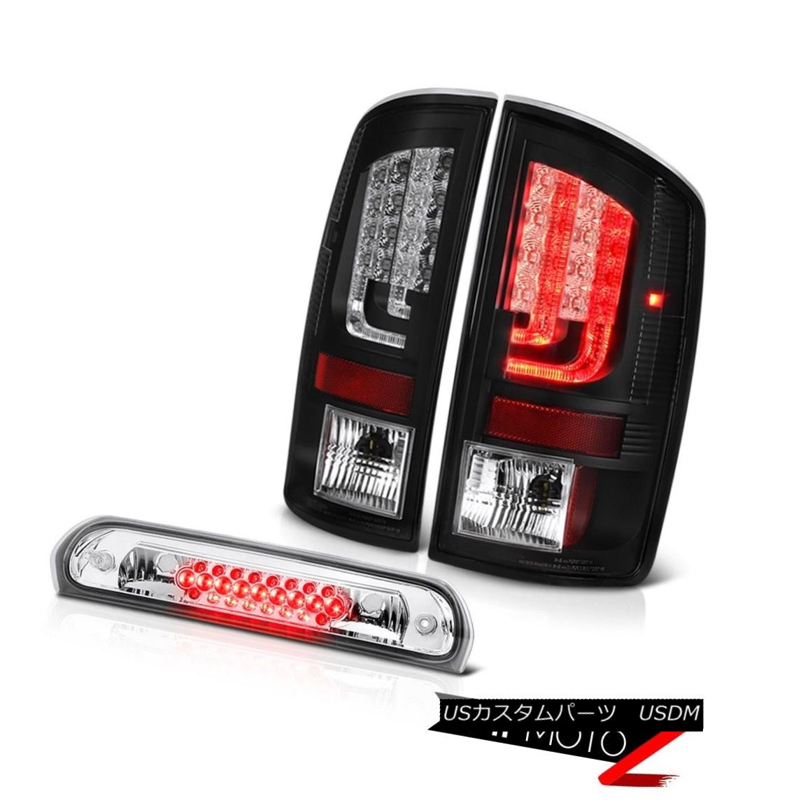 テールライト 2003-2006 Dodge Ram 1500 3.7L Tail Brake Lights Chrome 3RD Lamp