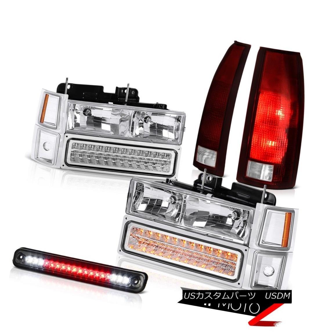 テールライト 1994-1998 Silverado 3500 Roof Brake Light Rear Lamps Headlamps Signal Parking 1994-1998シルバラード3500ルーフブレーキライトリアランプヘッドランプ信号駐車
