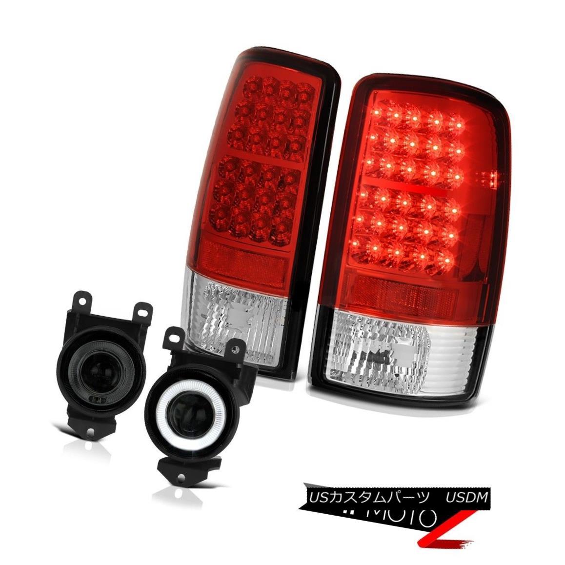 テールライト 00 01 02 03 04 05 06 Yukon LED Red Clear Tail Lights Tinted Smoke DRL FogLamps 00 01 02 03 04 05 06ユーコンLEDレッドクリアテールライトティンテッドスモークDRLフォグランプ