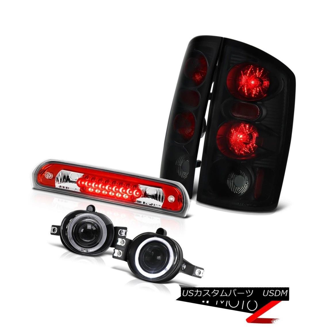 テールライト 2006 Dodge Ram 2500 Smoke+Black Brake Tail Lights Projector Foglights Cargo LED 2006 Dodge Ram 2500 Smoke + BlackブレーキテールライトプロジェクターFoglights Cargo LED