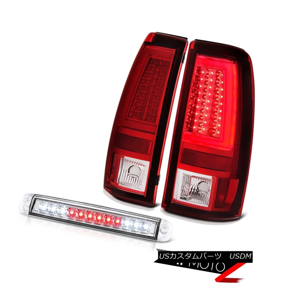 テールライト 03 04 05 06 Silverado Parking Brake Lights Roof Cab Light Tron Style