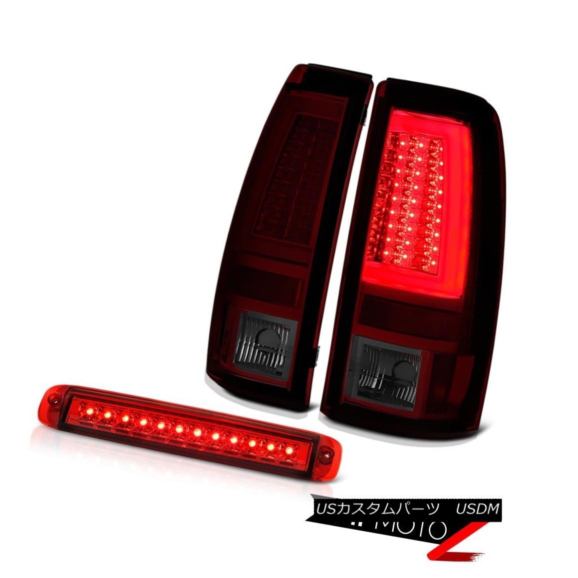 テールライト 2003-2006 Silverado Tail Brake Lights 3RD Lamp OLED Neon Tube LED