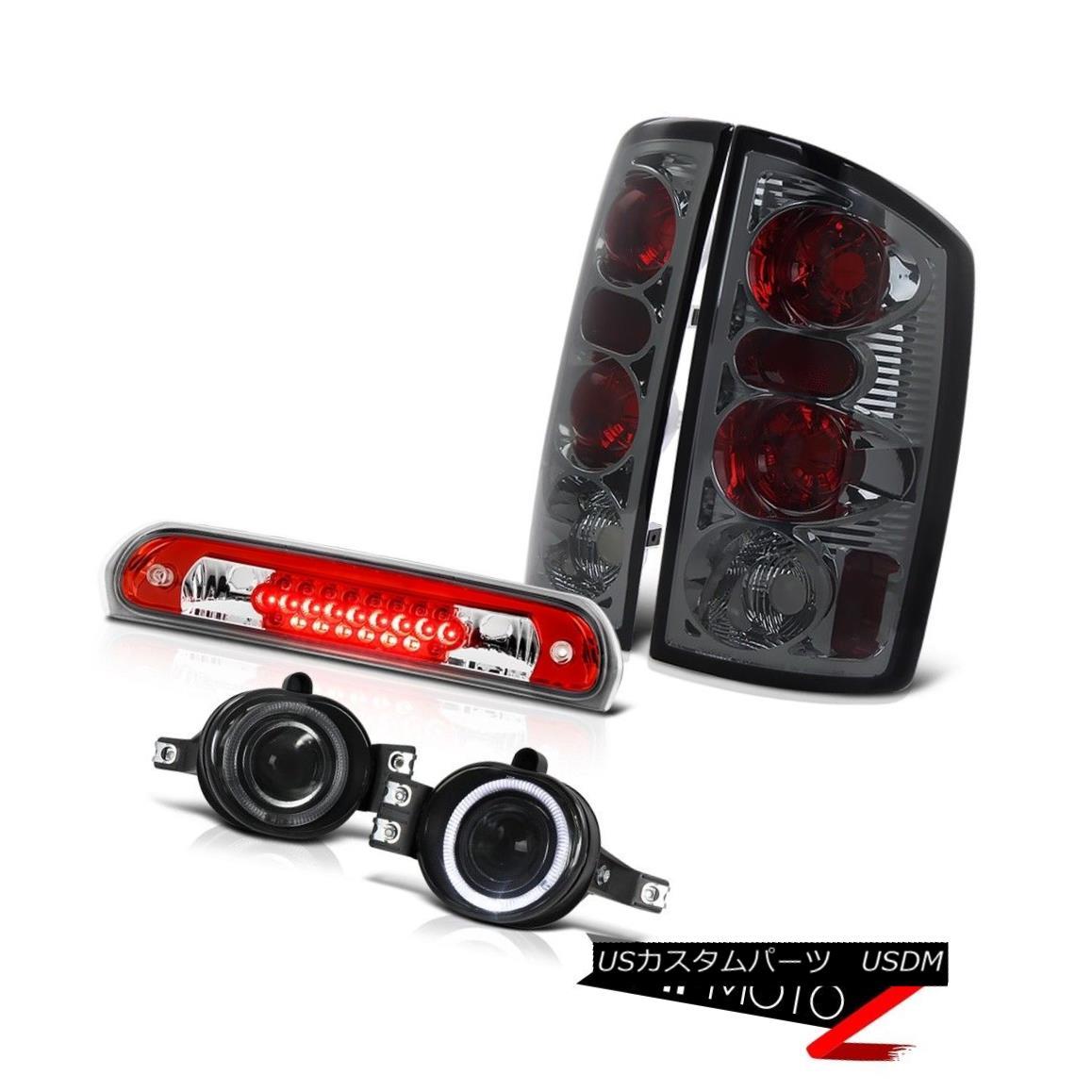 テールライト 2006 Dodge Ram Magnum V8 Smoke Taillights Projector Fog Third Brake Cargo LED 2006年ダッジラムマグナムV8煙燈プロジェクターフォグ第3ブレーキカーゴLED