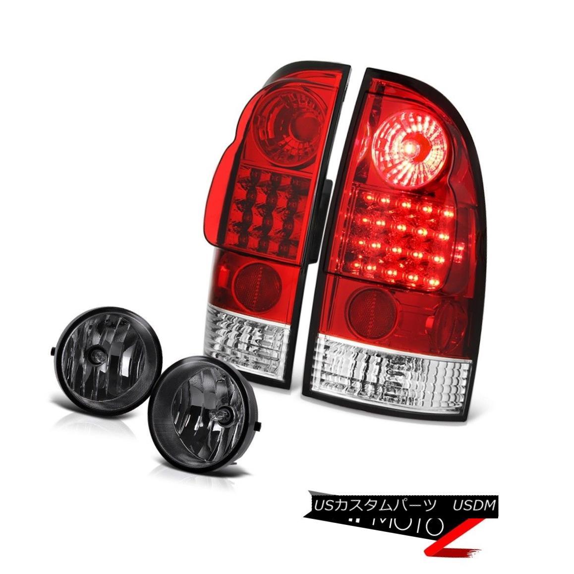 テールライト 2005-2011 Tacoma TRD Offroad Red LED Tail Lights Foglights Wiring Relay Assembly 2005-2011 Tacoma TRDオフロード赤色LEDテールライトフォグライト配線リレーアセンブリ