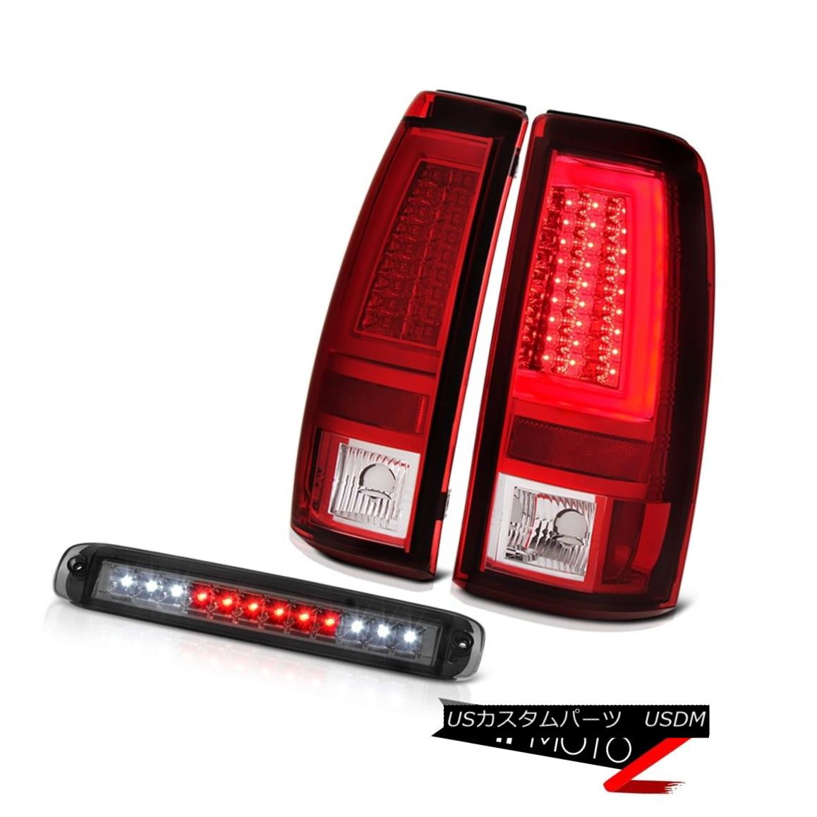 テールライト 2003-2006 Chevy Silverado Bloody Red Tail Brake Lamps Third Light