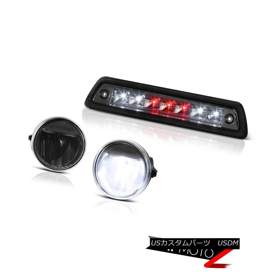 テールライト 2009-2014 F150 HARLEY DAVIDSON Smokey roof brake lamp matte black foglights LED 2009年?2014年F150ハリ・ダビドー・スモーキー・ルーフ・ブレーキ・ランプマット・ブラック・フォグライトLED