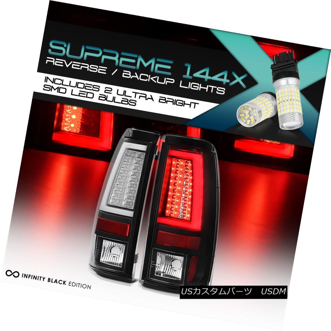 テールライト {360 Degree SMD Backup} 1999-2002 Chevy Silverado OLED NEON TUBE