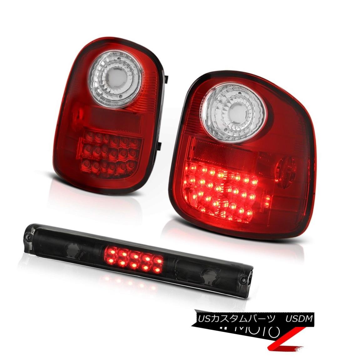 テールライト LED Signal Tail Lights Smoke Third Brake 1997-2003 Ford F150 Flareside Lariat LED信号テールライトは第3ブレーキを煙る1997-2003 Ford F150 Flareside Lariat