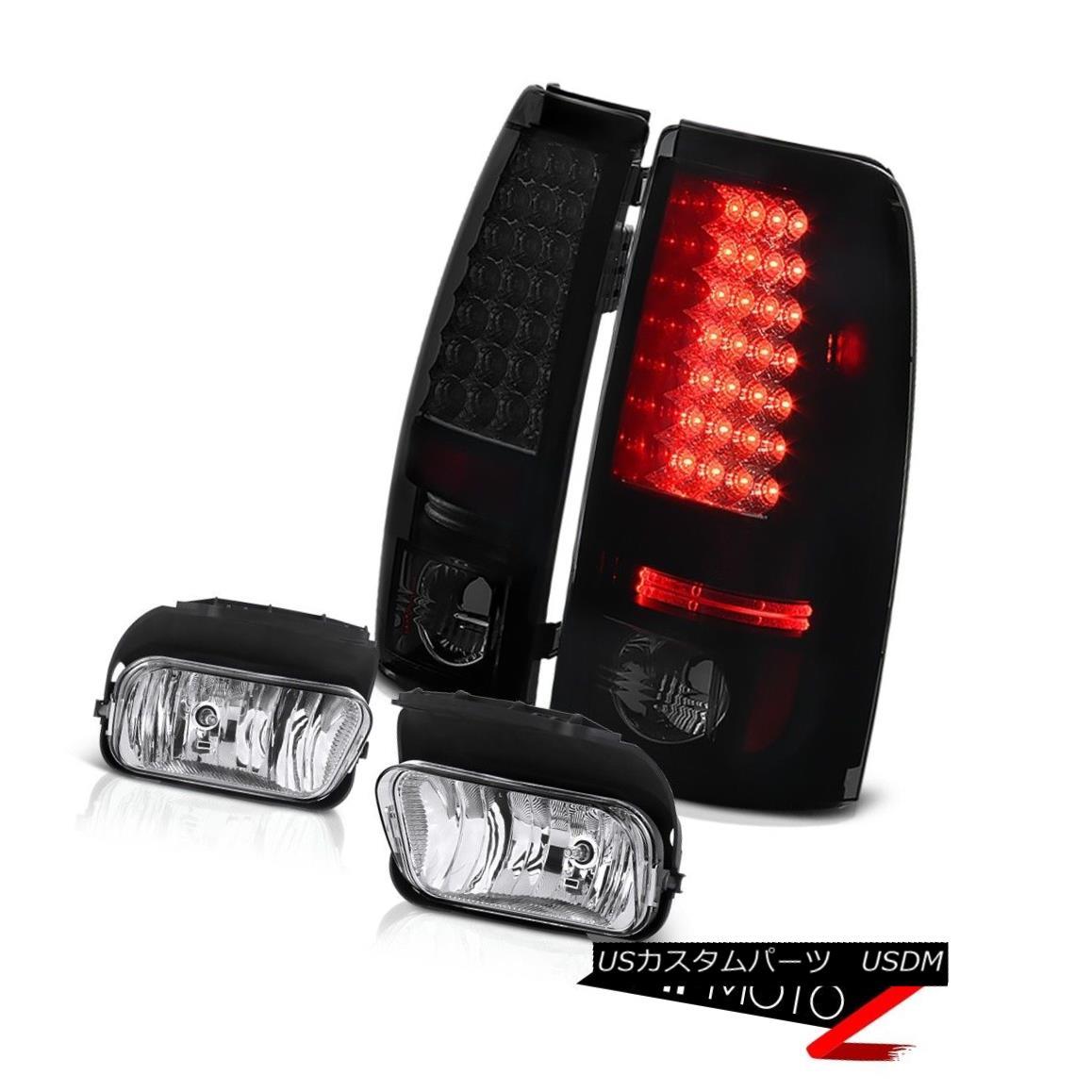 テールライト Bright Rear Brake Lamp Tail Light Driving Foglights 03 04 05 06 Silverado 2500HD ブライトリアブレーキランプテールライトドライビングフォグライト03 04 05 06シルバラード2500HD