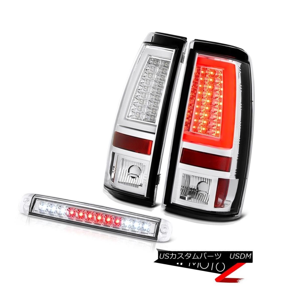 テールライト 03-06 Silverado 2500Hd Sterling Chrome Parking Brake Lights Roof Light Light Bar 03-06 Silverado 2500Hdスターリングクロムパーキングブレーキライトルーフライトバー