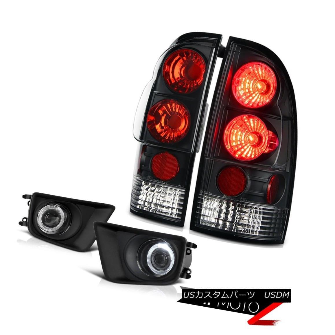 テールライト 2012 2013 2014 2015 Toyota Tacoma Offroad Foglights matte black tail brake lamps 2012 2013 2014 2015 Toyota Tacoma Offroad Foglightsマットブラックテールブレーキランプ