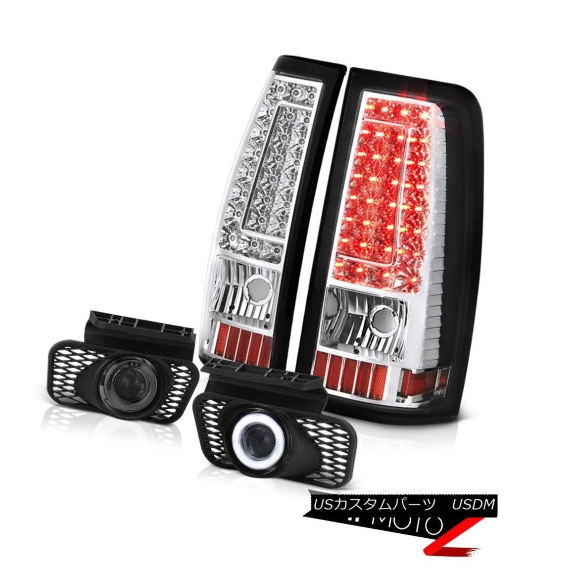 テールライト 03-06 Silverado 1500 Fog Lights Euro Chrome Parking Brake LED SMD