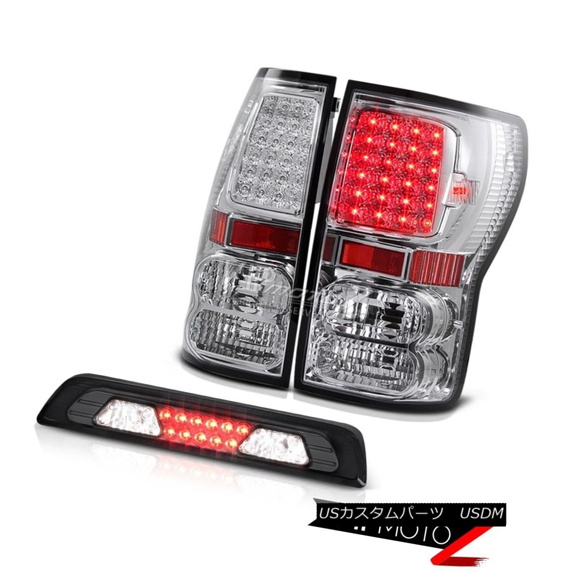 テールライト 2007-2013 Toyota Tundra SR5 Smokey Roof Cab Lamp Tail Lights LED