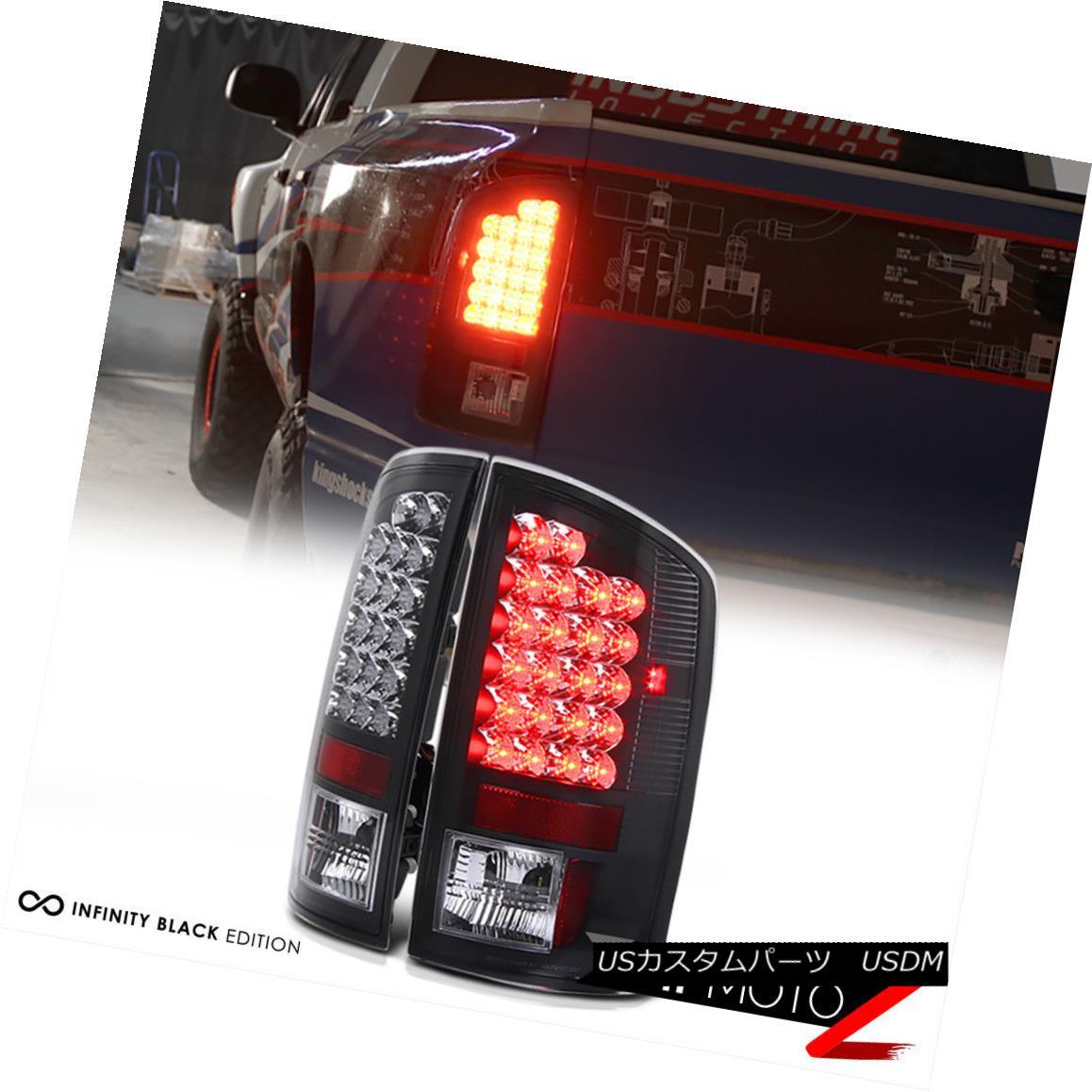 3rd Brake Lamp 02-05 Dodge Ram Red Clear LED Tail Lights
