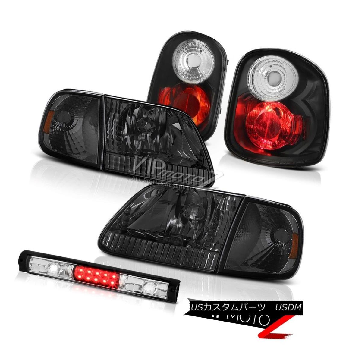 テールライト 01-03 F150 Flareside Harley Davidson Smoke Bumper+Headlamps Tail Light Brake LED 01-03 F150 Flaresideハーレーダビッドソン煙バンパー+ヘッドラム psテールライトブレーキLED
