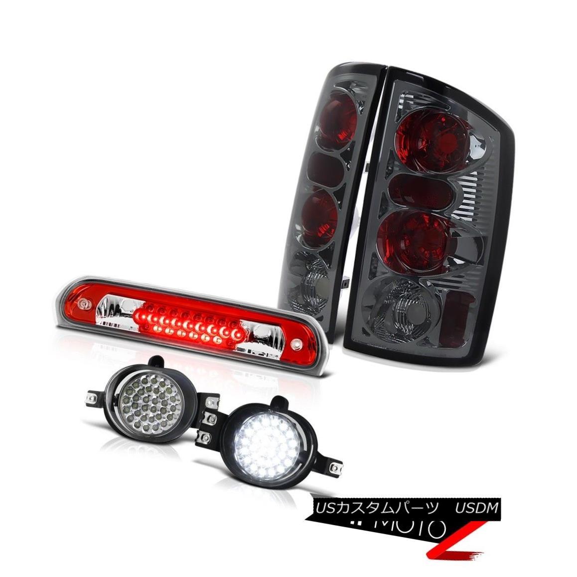 テールライト 2006 Dodge Ram V8 Rear Signal Tail Lights SMD LED Foglamps Wine Red Third Brake 2006 Dodge Ram V8リアシグナルテールライトSMD LEDフォグランプワインレッドThird Brake