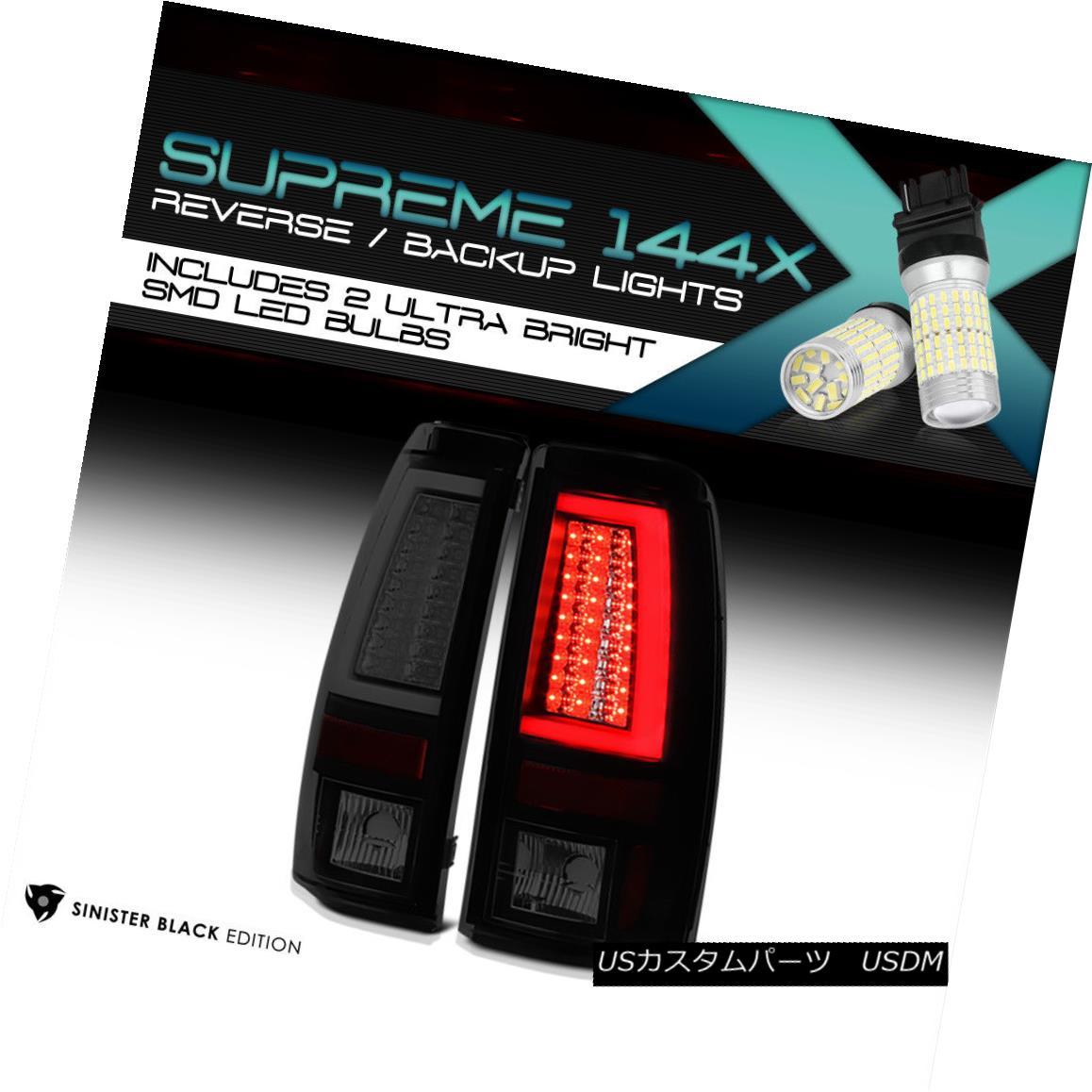 テールライト [360 Degree SMD Backup] [SINISTER BLACK] 2003-2006 Silverado LED Neon Tail Light [360度SMDバックアップ] [SINISTER BLACK] 2003-2006 Silverado LEDネオンテールライト