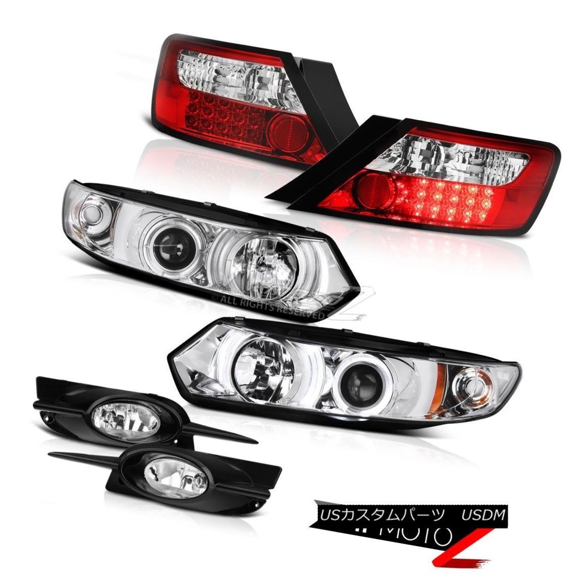 テールライト 09-11 Civic 2D Coupe Projector Clear Headlight LED Signal Tail Light Driving Fog 09-11シビック2DクーペプロジェクタークリアヘッドライトLED信号テールライトドライビングフォグ