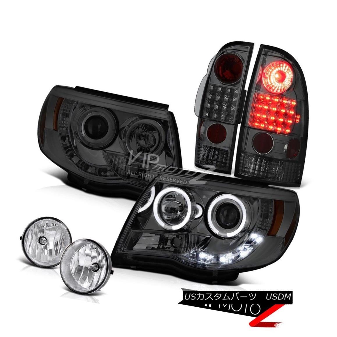 テールライト Tinted Projector Headlight LED Brake Light Chrome Fog 2005-2011 Tacoma PreRunner ティンテッドプロジェクターヘッドライトLEDブレーキライトクロムフォグ2005-2011 Tacoma PreRunner
