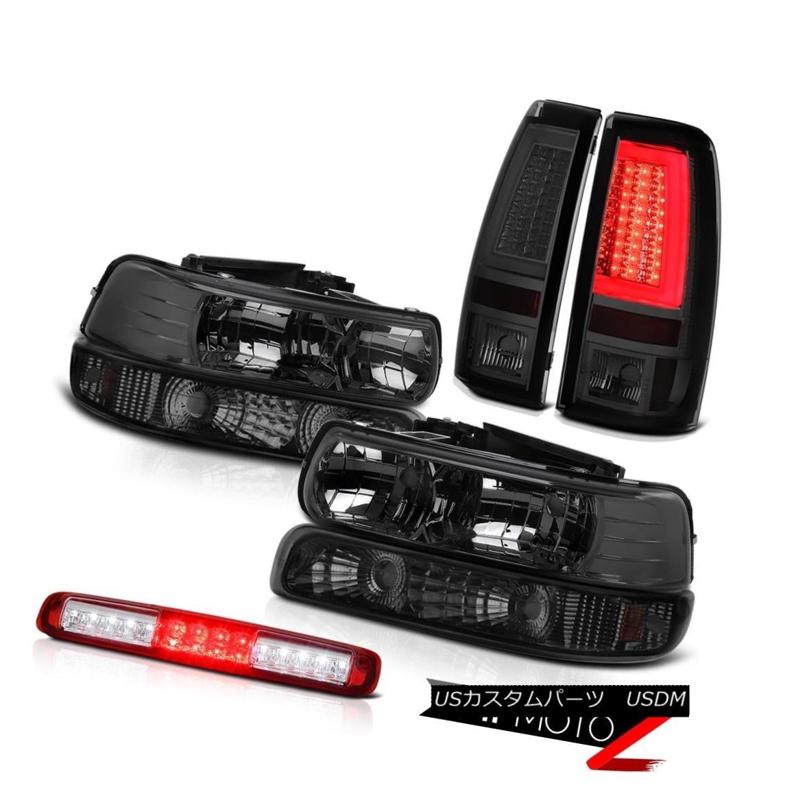 テールライト 99-02 Silverado 4WD Tail Lights Bumper Lamp Headlights 3rd Brake