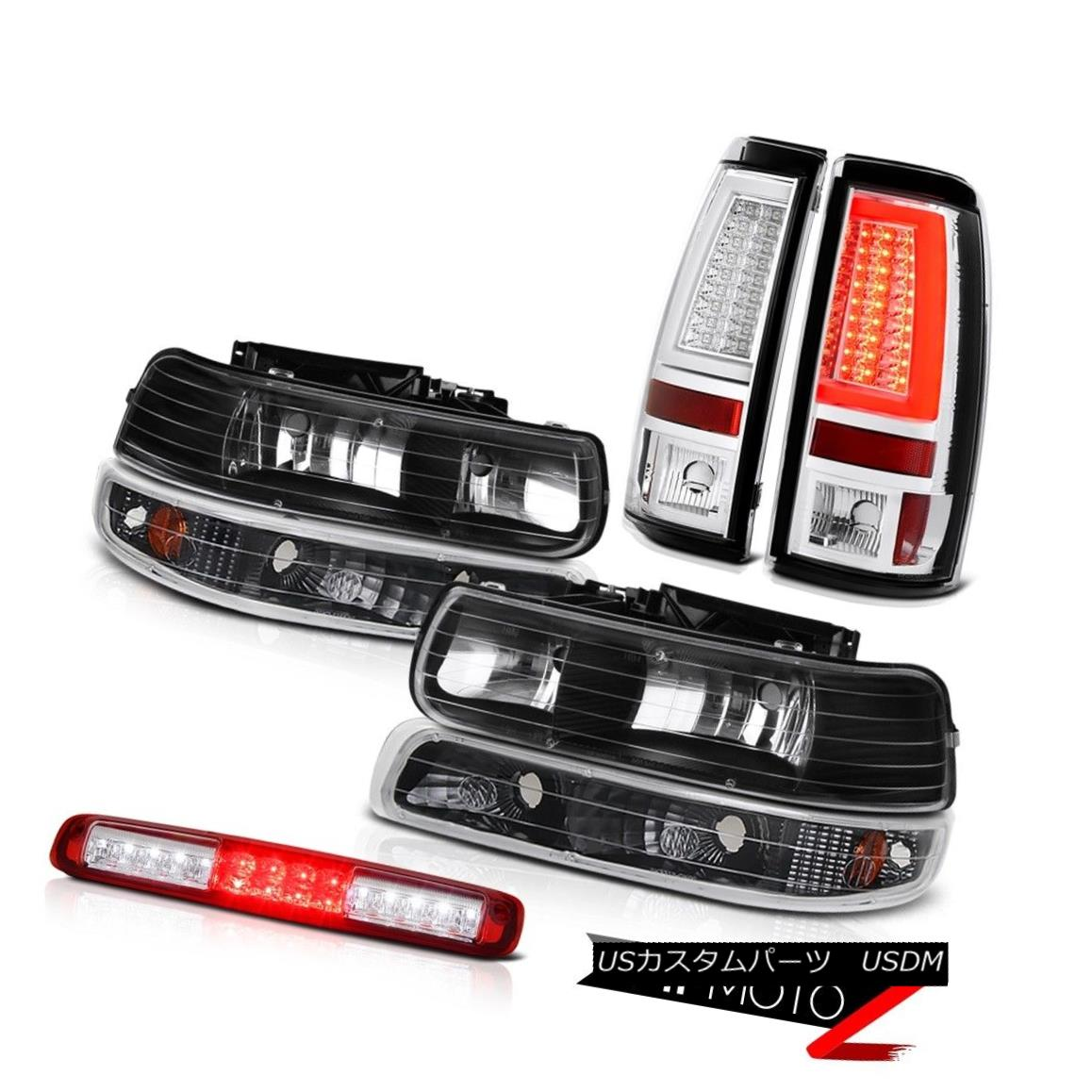 テールライト 1999-2002 Silverado LS Tail Lights High Stop Lamp Foglights Parking Light LED 1999-2002 Silverado LSテールライトハイストップランプフォグライトパーキングライトLED