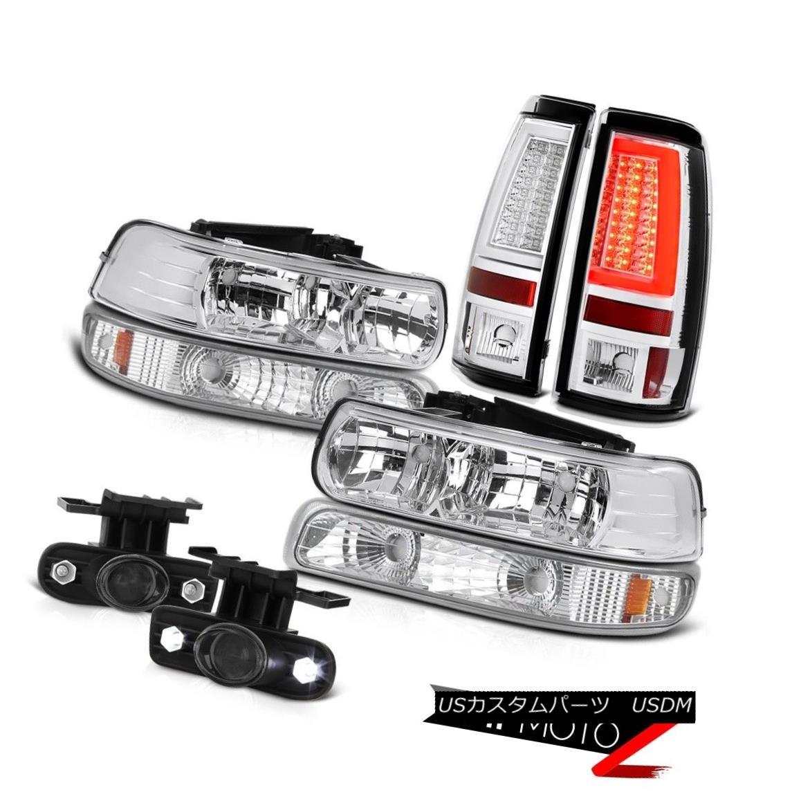 テールライト 99-02 Silverado 4.3L Tail Lamps Parking Lamp Headlamps Fog Neon Tube