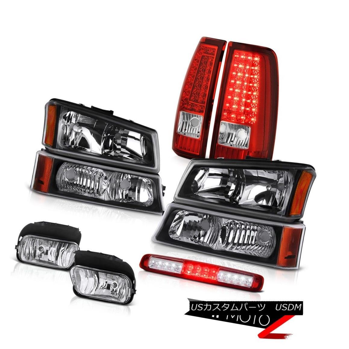 テールライト 03-06 Silverado Third Brake Light Foglights Parking Lights Signal Lamp Headlamps 03-06 Silverado第3ブレーキライトFoglightsパーキングライトシグナルランプヘッドランプ