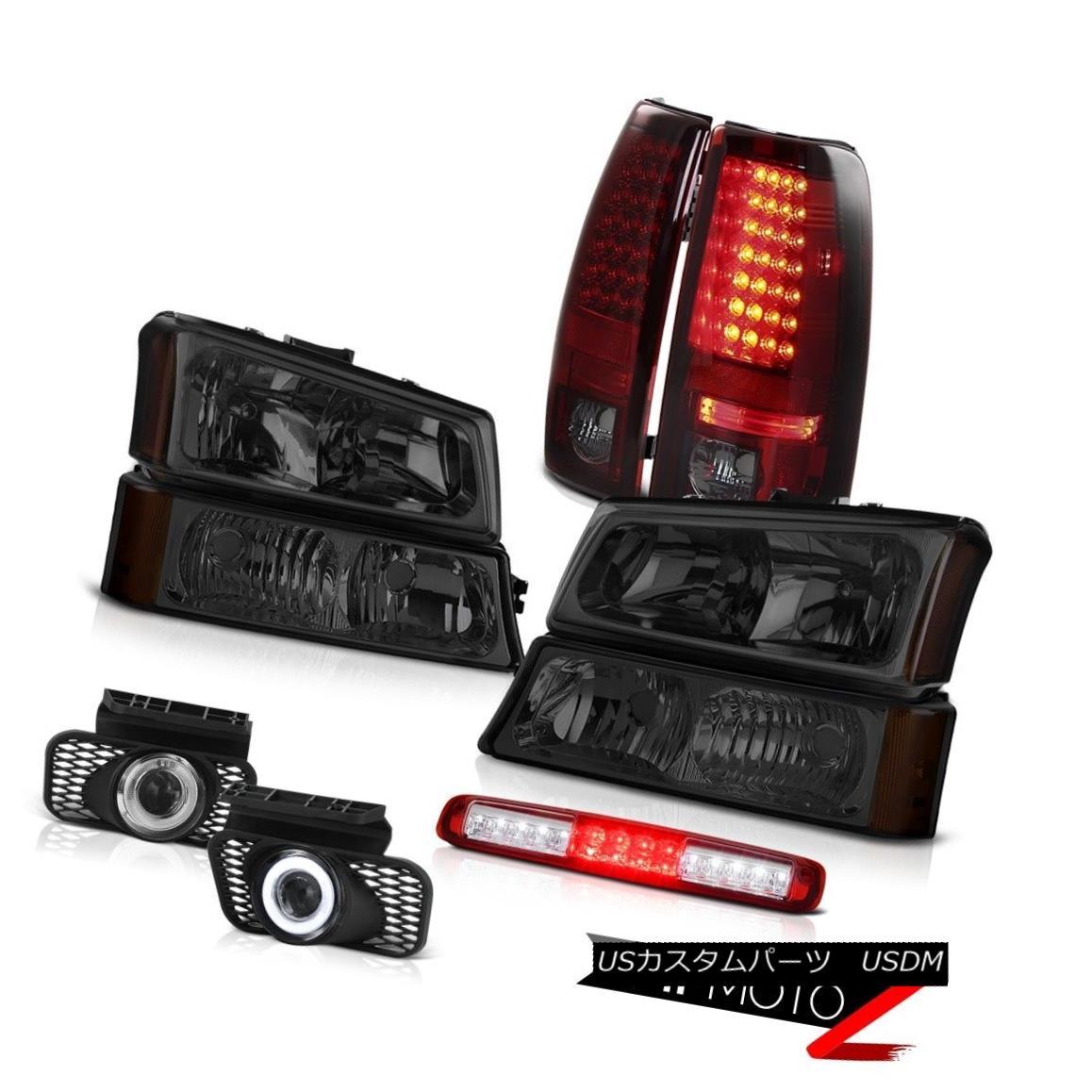 テールライト 03 04 05 06 Silverado Parking Lamp 3RD Brake Headlamps Foglights Rear Lights 03 04 05 06 Silveradoパーキングランプ3RDブレーキヘッドランプフォグライトリアライト