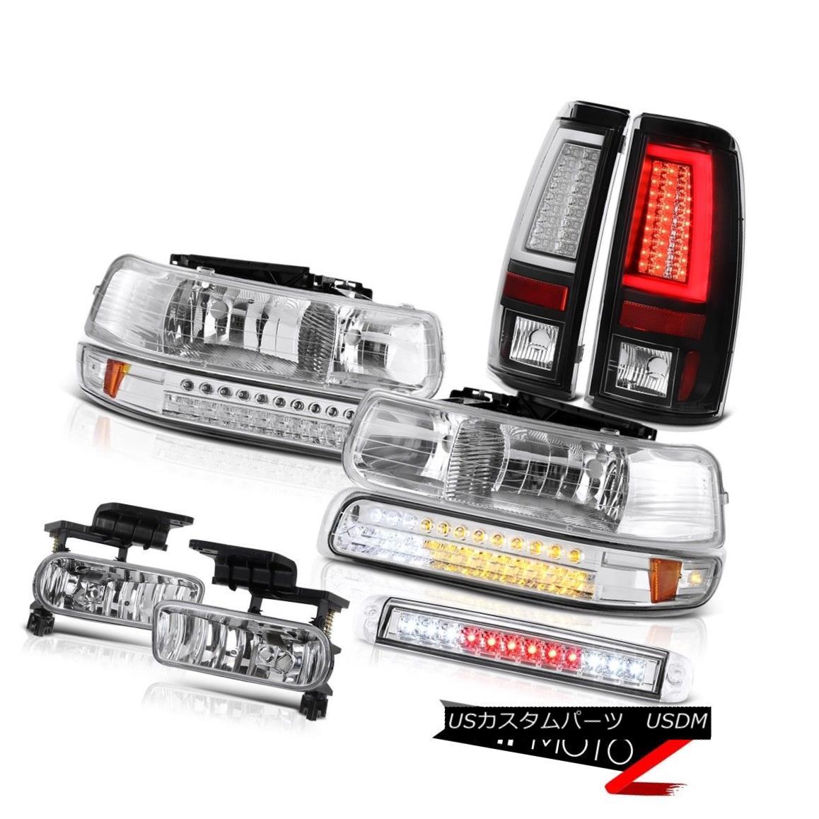テールライト 99 00 01 02 Silverado 3500HD Tail Lamps Roof Cargo Light Headlamps Foglamps LED 99 00 01 02 Silverado 3500HDテールランプ屋根カーゴライトヘッドランプフォグランプLED
