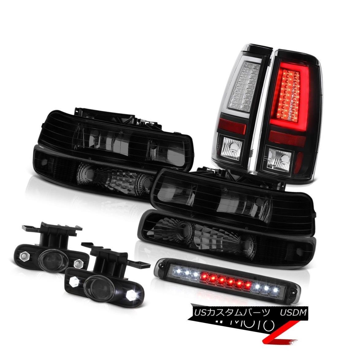 テールライト 1999-2002 Silverado LT Tail Brake Lights Headlamps Bumper Roof Lamp Foglamps LED 1999-2002 Silverado LTテールブレーキライトヘッドランプバンパールーフランプフォグランプLED