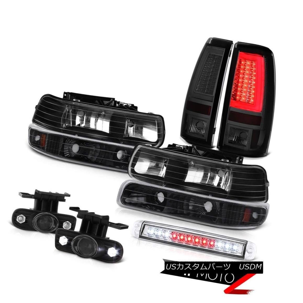 テールライト 1999-2002 Silverado LS Tail Lights Roof Brake Light Headlamps Fog LED Assembly 1999-2002 Silverado LSテールライトルーフブレーキライトヘッドランプフォグLEDアセンブリ