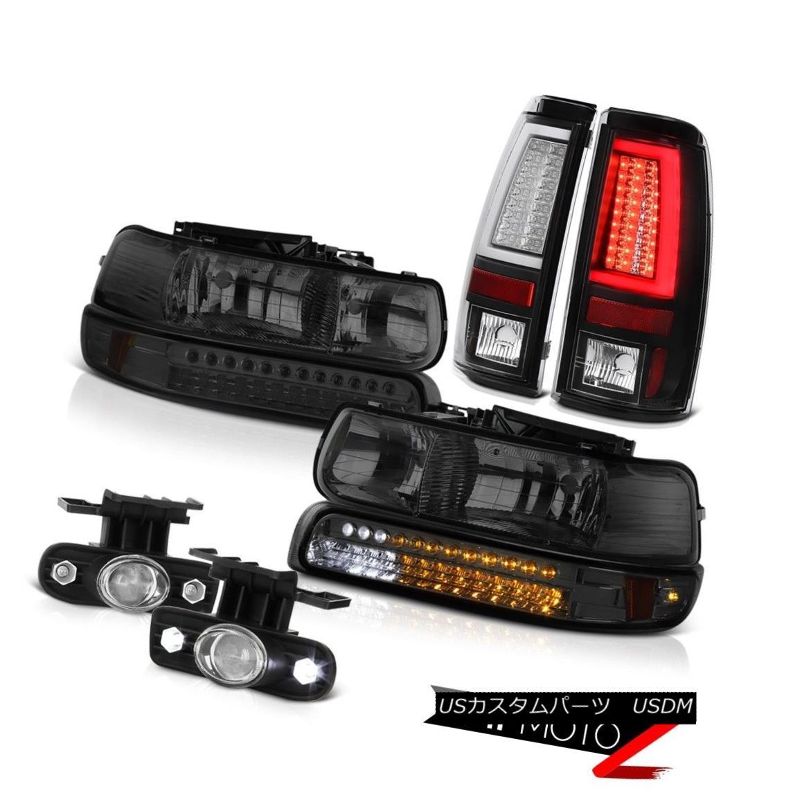 テールライト 99 00 01 02 Silverado 4WD Tail Lamps Headlamps Foglamps Tron Tube
