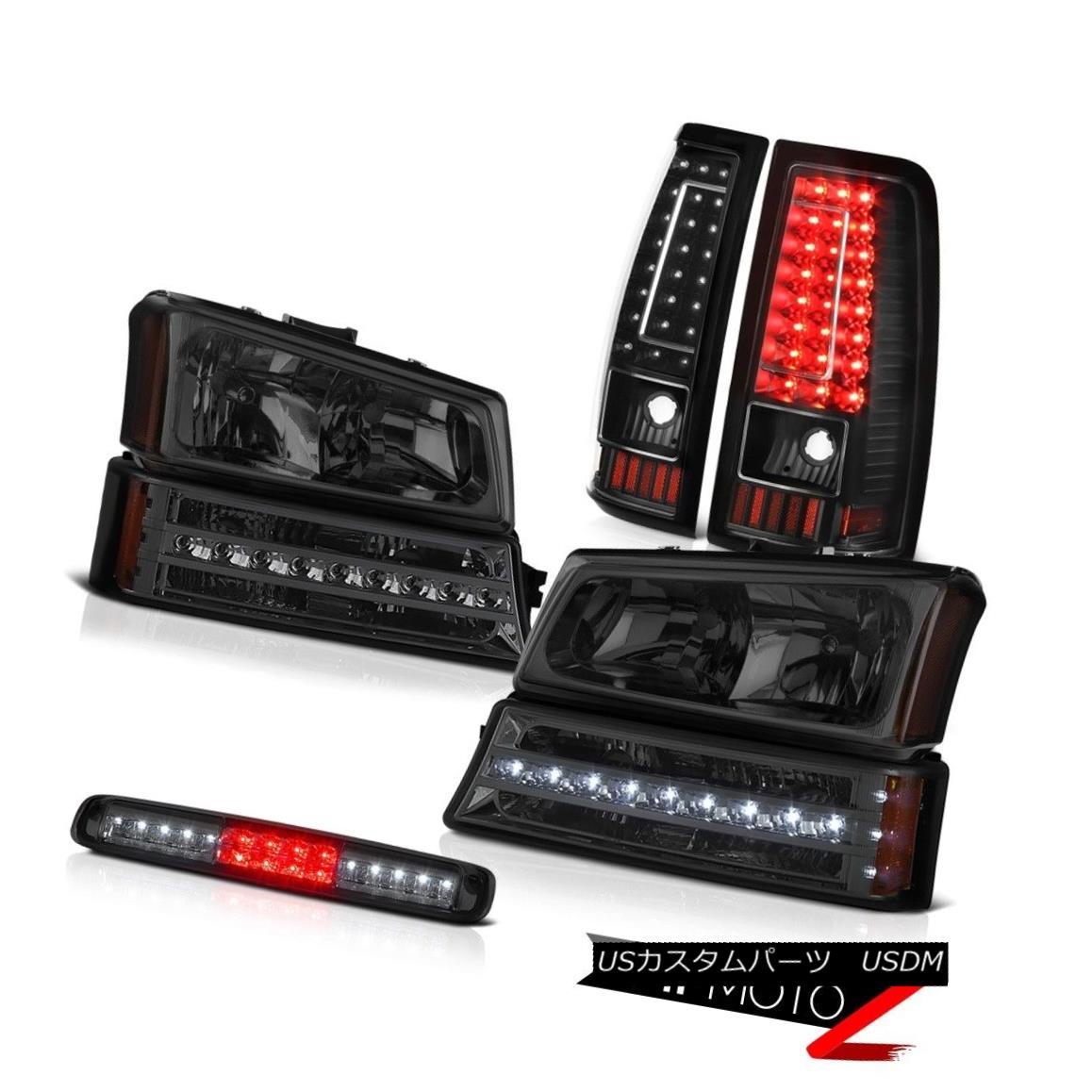 テールライト 03-06 Chevy Silverado 1500 High Stop Light Tail Lamps Parking Lamp Headlights 03-06 Chevy Silverado 1500ハイストップライトテールランプパーキングランプヘッドライト