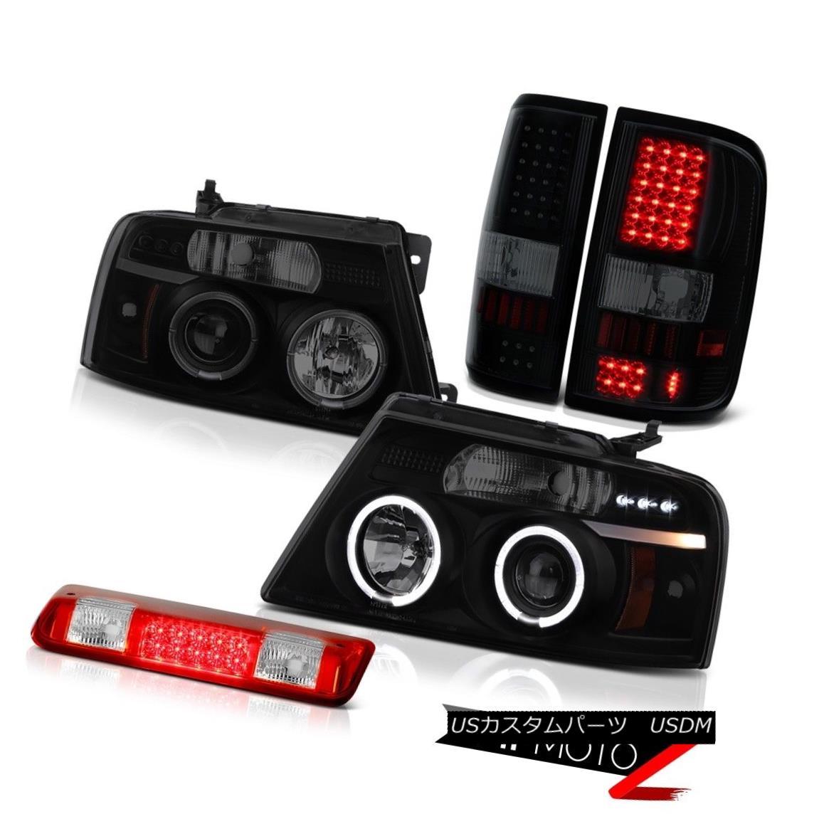 テールライト 2004-2008 Ford F150 FX4 Rosso Red Roof Cab Lamp Tail Lights Headlights LED SMD 2004-2008フォードF150 FX4ロッソレッドルーフキャブランプテールライトヘッドライトLED SMD