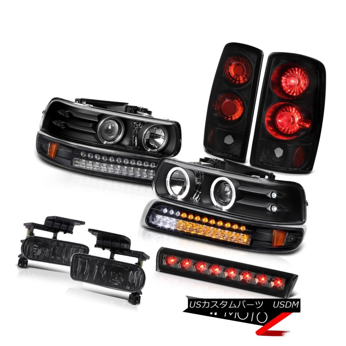 テールライト 00-06 Chevy Suburban Z71 Headlights bumper light tail lights fog lamps 3rd brake 00-06シボレー郊外Z71ヘッドライトバンパーライトテールライトフォグランプ第3ブレーキ