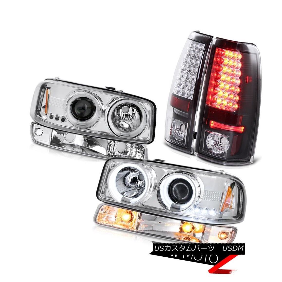 テールライト 1999-2002 Sierra WT Rear led brake lamps euro chrome signal light ccfl headlamps 1999-2002シエラWTリアブレーキランプのユーロクローム信号ライトccflヘッドライト