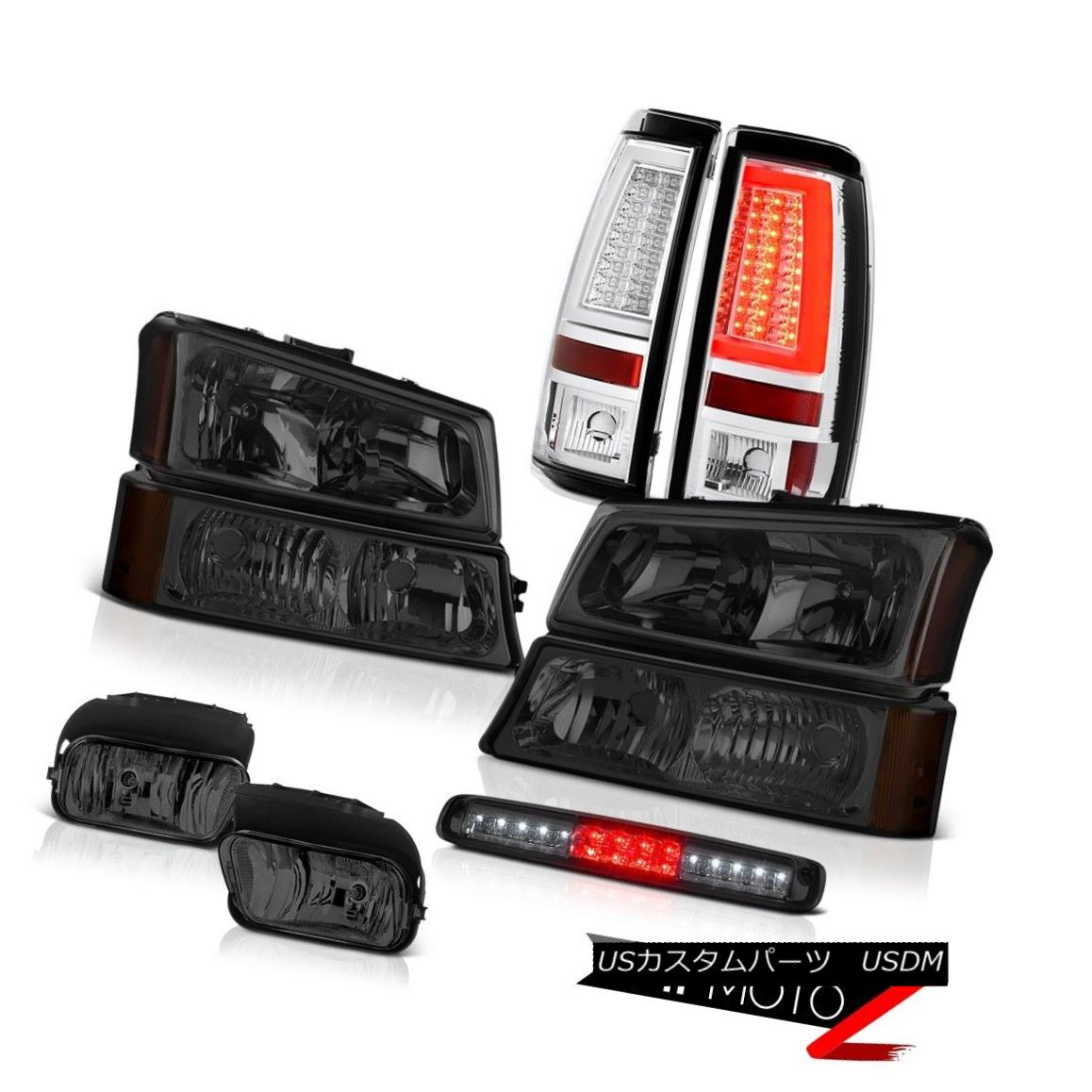 テールライト 2003-2006 Silverado 1500 Taillamps Headlights Foglamps 3RD Brake Lamp Light Bar 2003-2006 Silverado 1500 Taillampsヘッドライトフォグランプ3RDブレーキランプライトバー