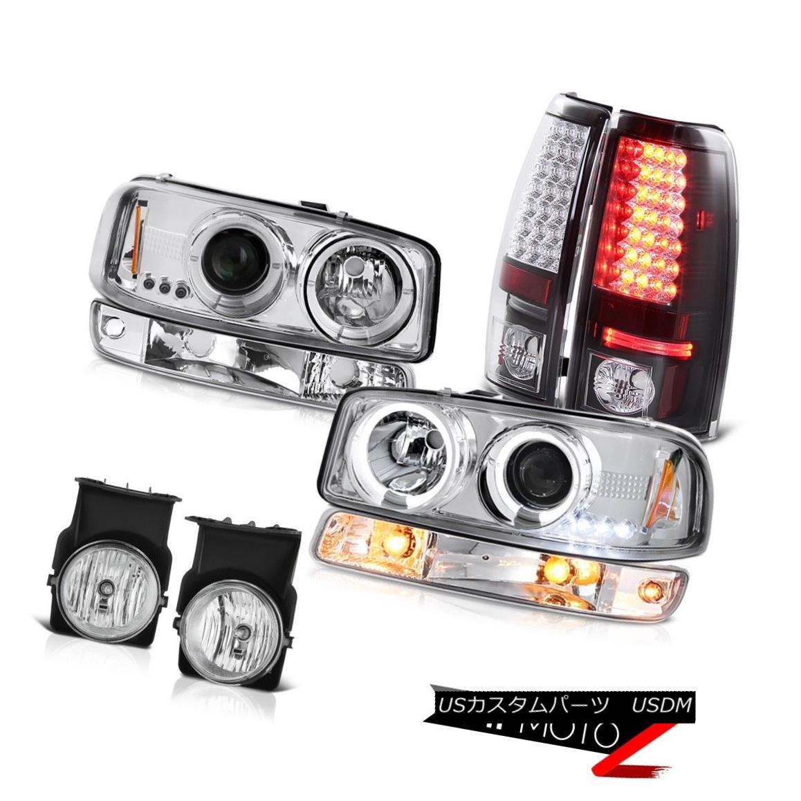 テールライト 2003-2006 Sierra WT Fog lights raven black rear brake bumper light Headlamps 2003-2006シエラWTフォグライトレーブンブラックリアブレーキバンパーライトヘッドランプ