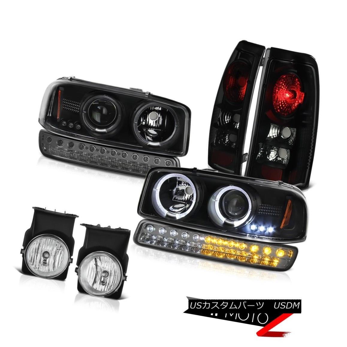 テールライト 03-06 Sierra WT Chrome Fog Lights Tail Brake Lamps Signal Light Headlights LED 03-06 Sierra WTクロームフォグライトテールブレーキランプシグナルライトヘッドライトLED