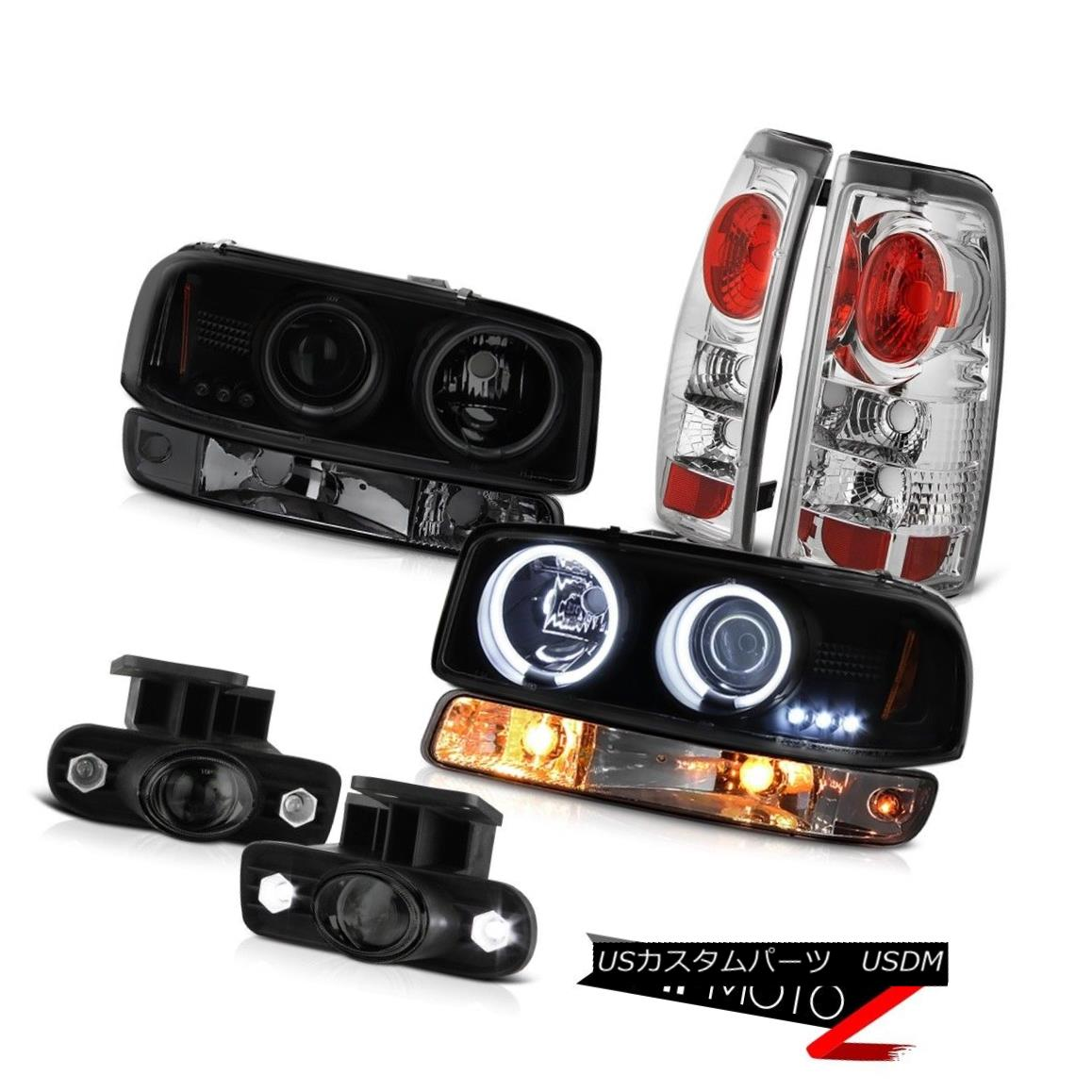 テールライト 99-02 Sierra WT Foglamps tail brake lights turn signal ccfl projector headlights 99-02シエラWTフォグランプテールブレーキライト信号ccflプロジェクターヘッドライト