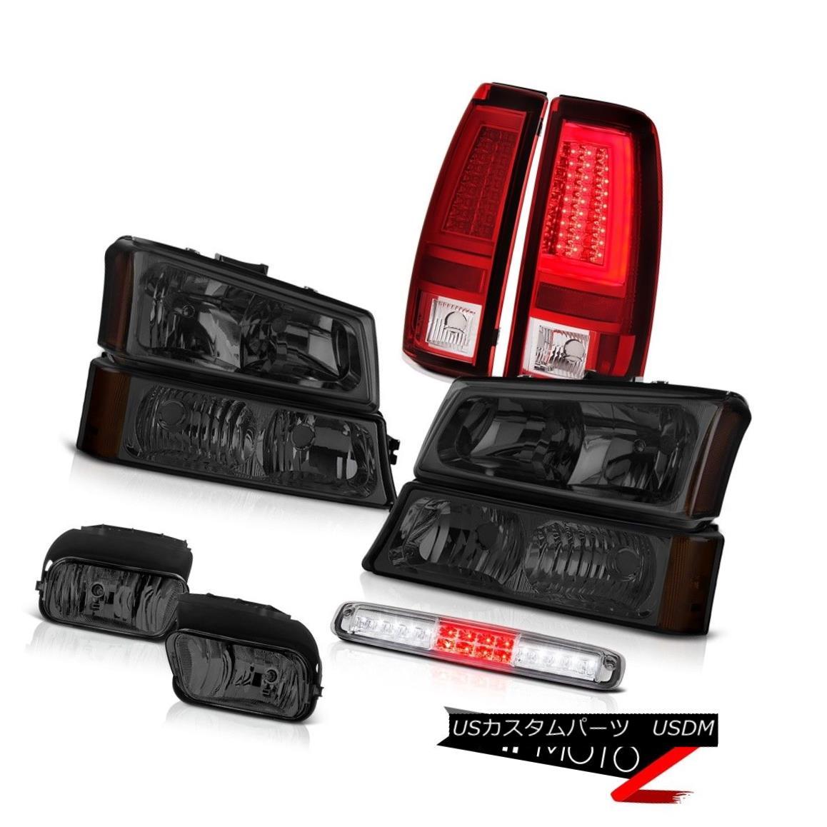 テールライト 03-06 Silverado 2500Hd Tail Lights Fog Lamps Bumper Lamp Roof Brake Headlights 03-06 Silverado 2500Hdテールライトフォグランプバンパーランプルーフブレーキヘッドライト