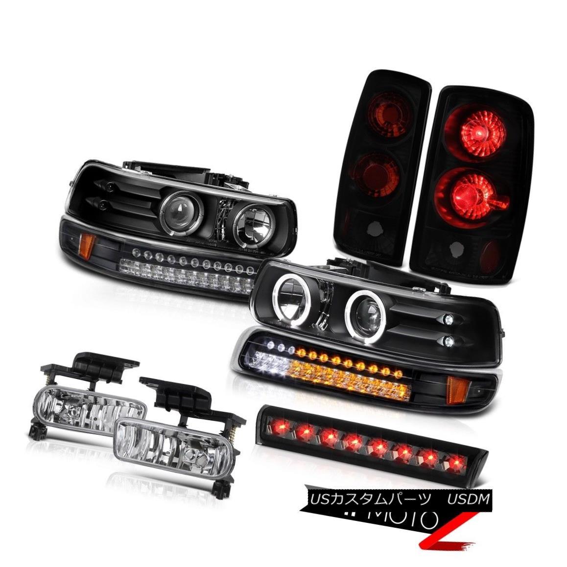 テールライト 2000-2006 Suburban 2500 Z71 Roof cab lamp fog lamps tail bumper Headlamps Euro 2000-2006郊外2500 Z71ルーフキャブ用ランプフォグランプテールバンパーヘッドランプ