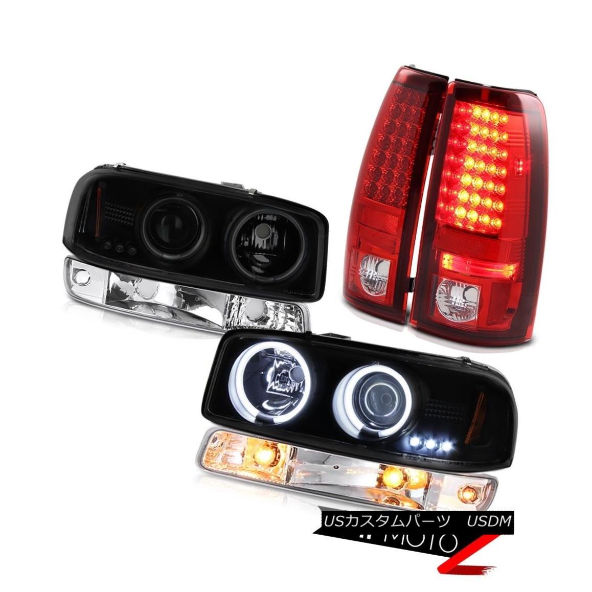テールライト 99-06 Sierra 6.0L Parking brake lights euro chrome bumper lamp ccfl headlights 99-06 Sierra 6.0Lパーキングブレーキライトユーロクロムバンパーランプccflヘッドライト