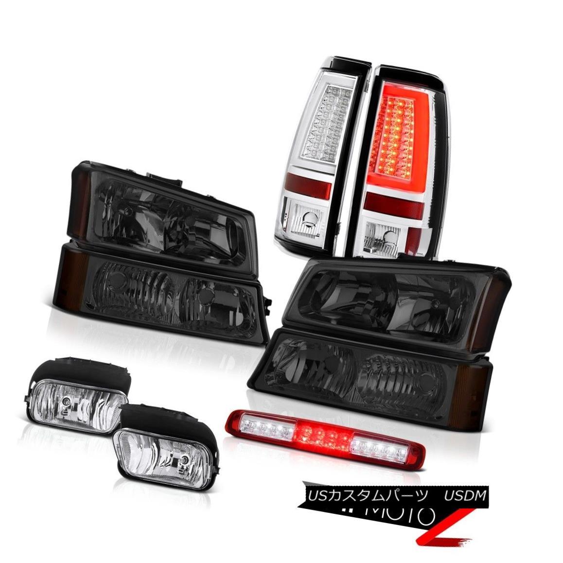 テールライト 2003-2006 Silverado 1500 Tail Lamps Headlights Fog Red Roof Cab Light Assembly 2003-2006 Silverado 1500テールランプヘッドライトフォグレッドルーフキャブライトアセンブリ