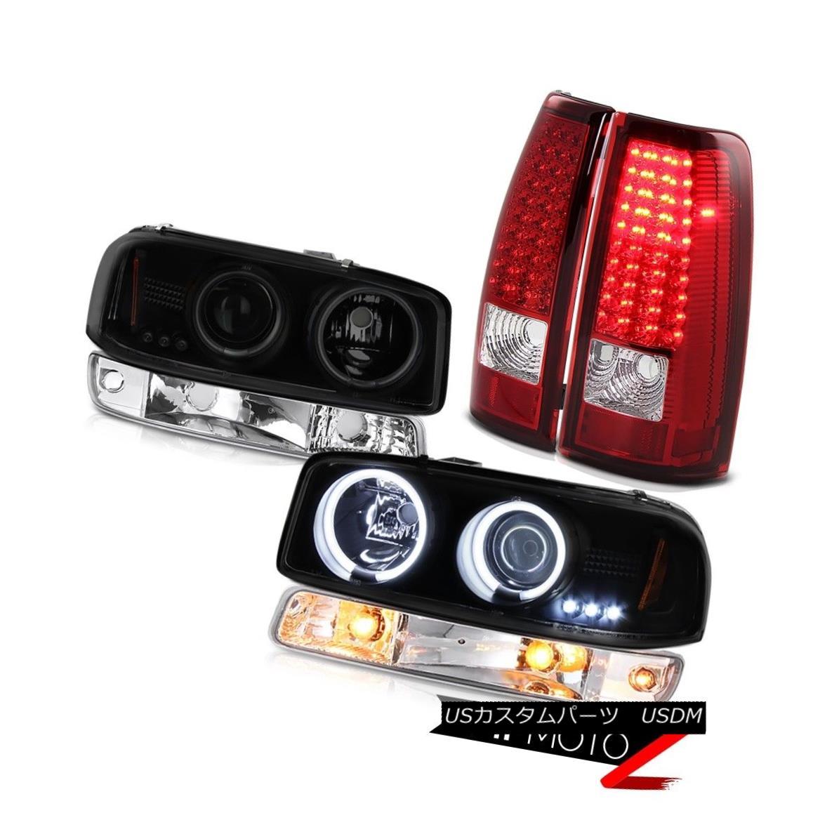 テールライト 99-06 Sierra 1500 Taillamps parking light smoke tinted ccfl headlamps LED SMD 99-06 Sierra 1500 Taillamps灯火灯煙灯ccflヘッドライトLED SMD