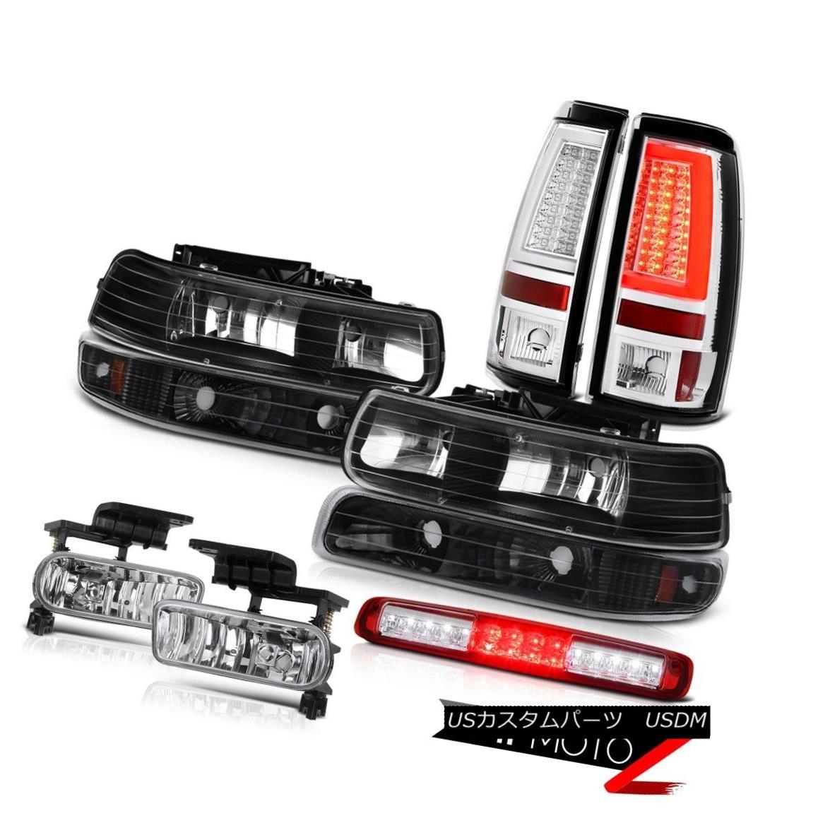 テールライト 99-02 Silverado 4.3L Tail Lamps 3rd Brake Lamp Fog Signal Light
