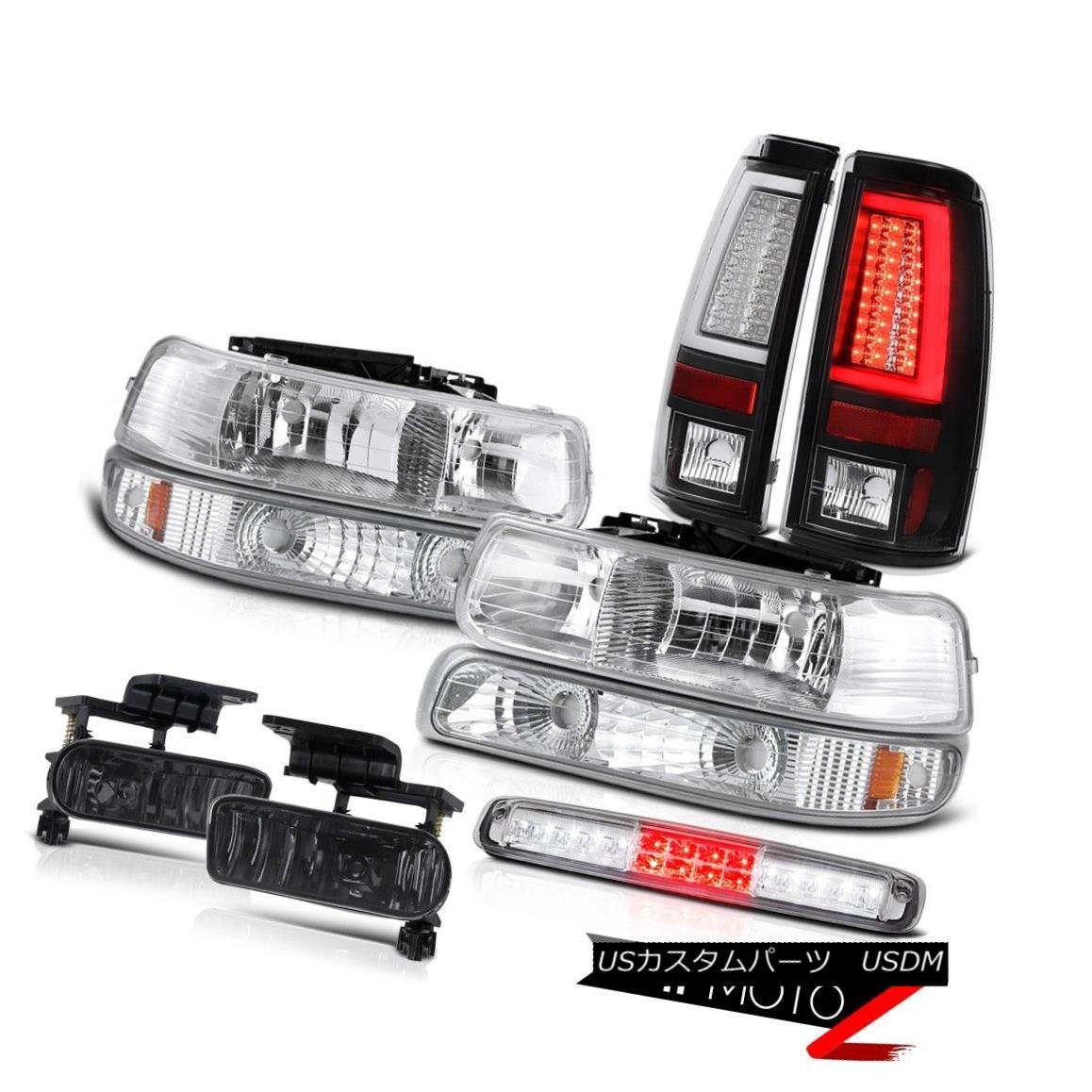 テールライト 1999-2002 Silverado 2500HD Taillights Headlights Signal Lamp 3rd Brake Foglamps 1999-2002 Silverado 2500HDテールライトヘッドライト信号ランプ第3ブレーキフォグランプ
