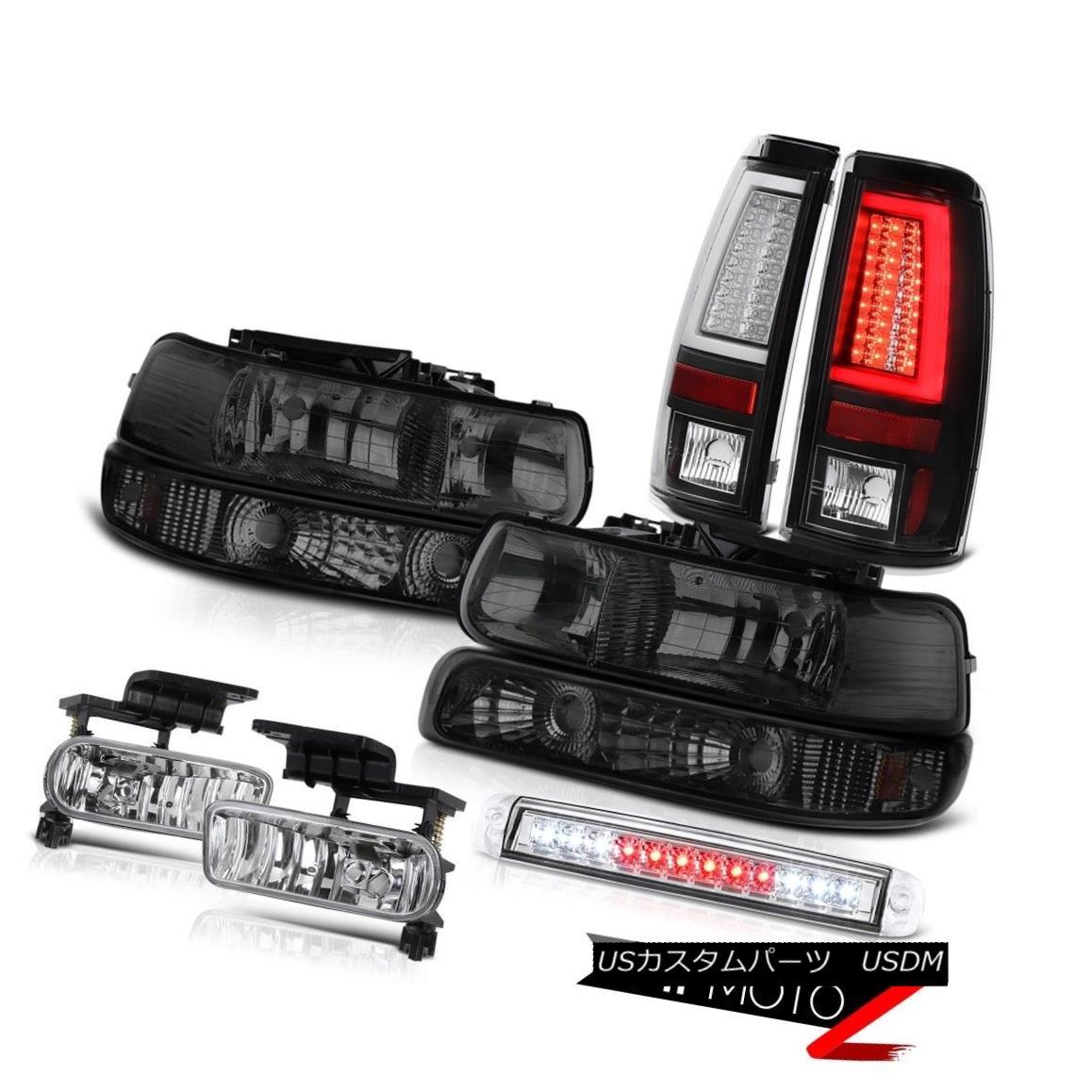 テールライト 99-02 Silverado 5.3L Taillamps 3rd Brake Lamp Headlights Turn Signal Fog Lights 99-02 Silverado 5.3L Taillamps第3ブレーキランプヘッドライトターンシグナルフォグライト