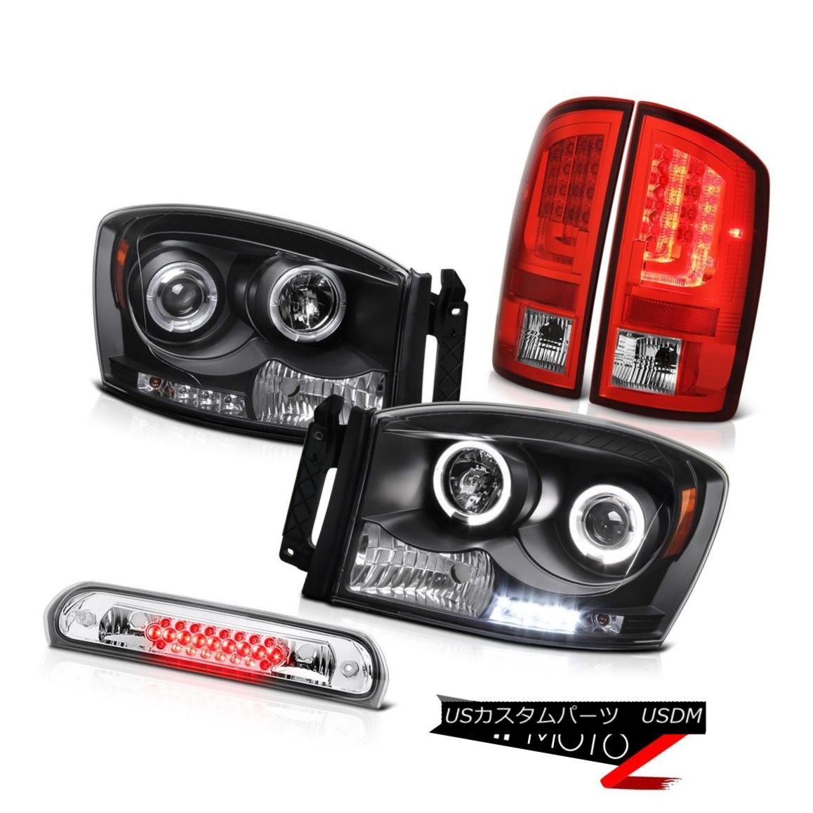 テールライト 2006 Ram 1500 Rosso Red Rear Brake Lamps Headlamps High STop Lamp